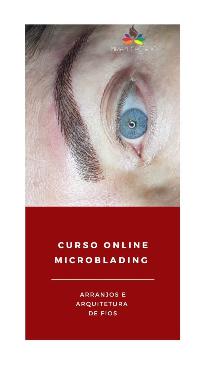 Curso Online Microblading: Arranjos e arquitetura de fios